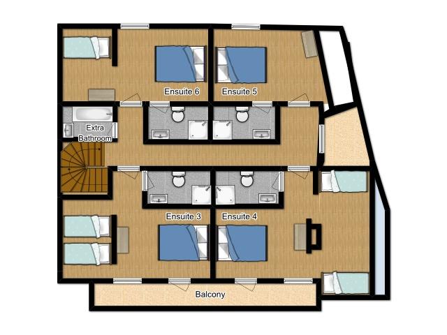 Chalet Samoens Samoens Floor Plan 1