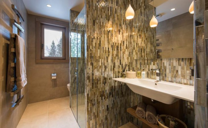 Chalet Alpaca, Meribel, Bathroom