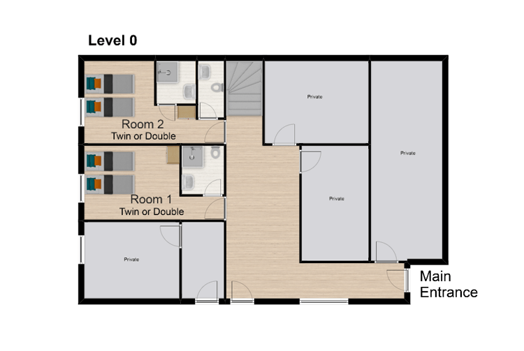 Chalet Amelie Val d'Isere Floor Plan 1