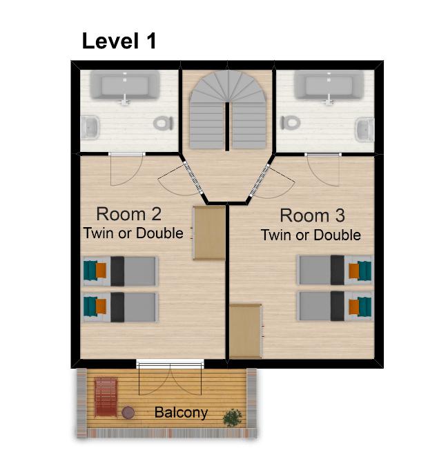 Chalet Belvedere Tignes Floor Plan 2