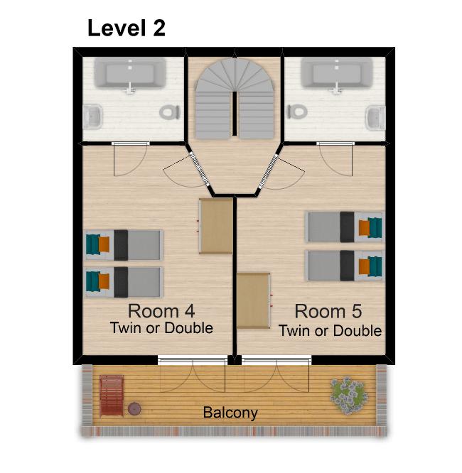 Chalet Belvedere Tignes Floor Plan 3