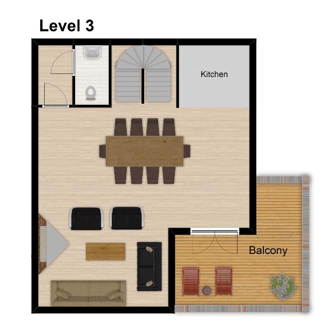 Chalet Belvedere Tignes Floor Plan 4