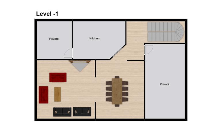 Chalet Bivouac Val d'Isere Floor Plan 3