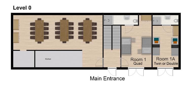 Chalet Hattiers Tignes Floor Plan 1