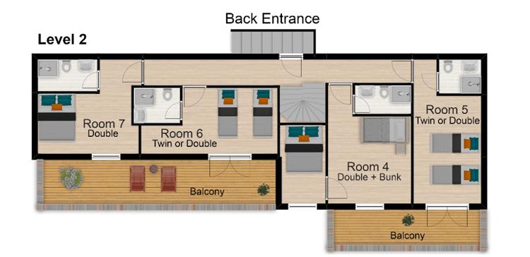 Chalet Hattiers Tignes Floor Plan 3