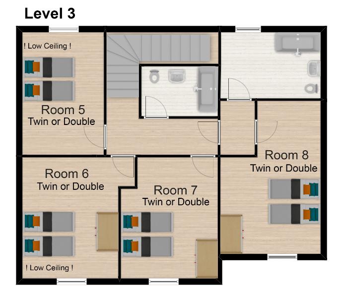 Chalet Isabella Tignes Floor Plan 4