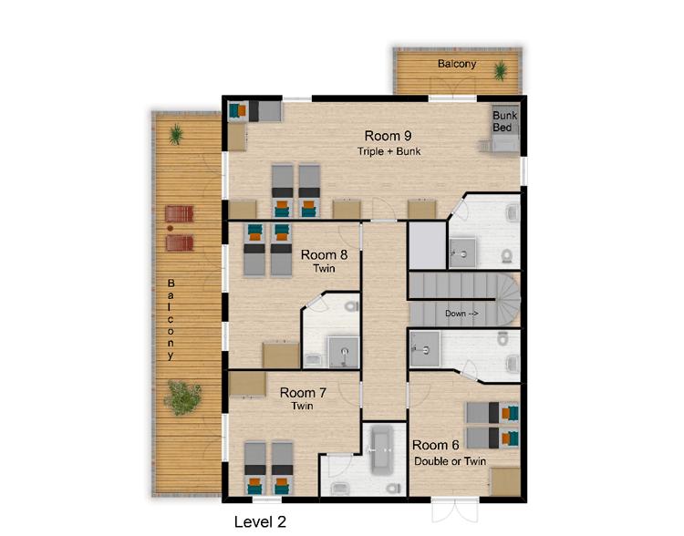 Chalet Rosko Tignes Floor Plan 4