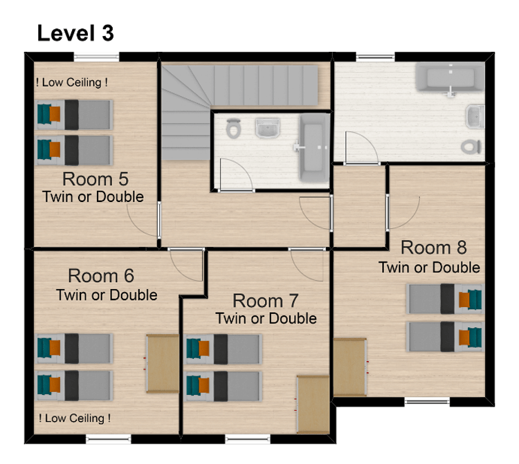 Chalet Sophia Tignes Floor Plan 4