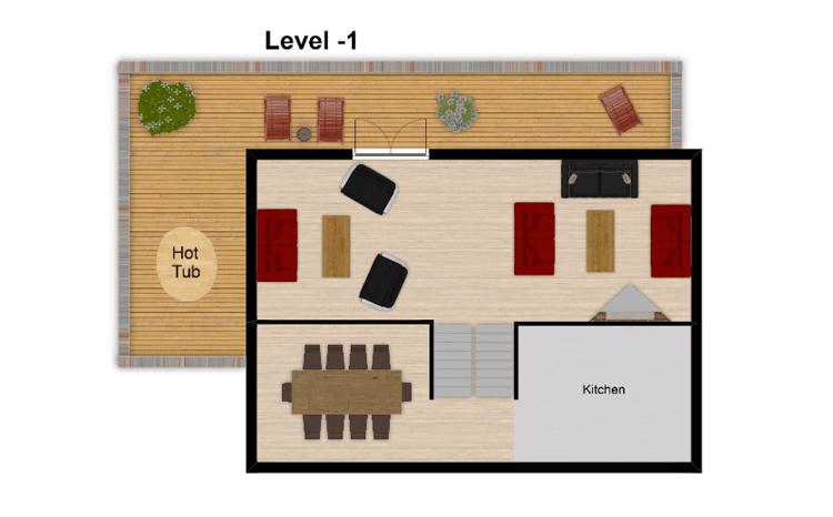 Chalet Val Monte Tignes Floor Plan 2