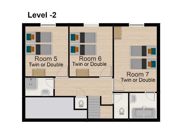 Chalet Val Monte Tignes Floor Plan 3