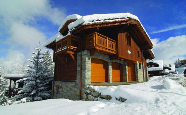 Chalet Le Bisolet, Courchevel, External