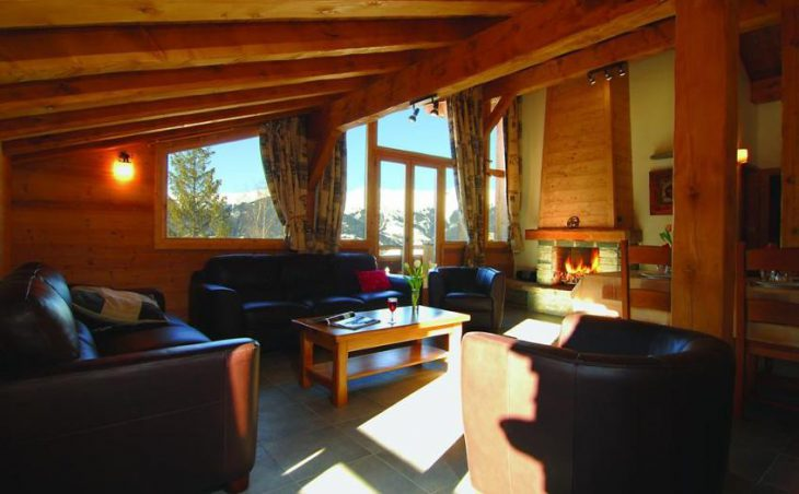 Chalet Le Bisolet, Courchevel, Lounge Area