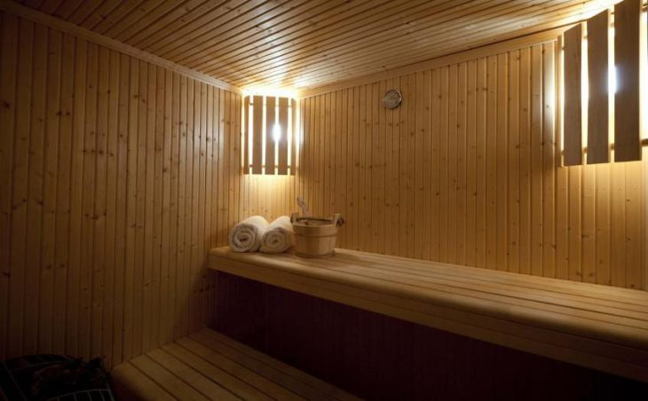 Chalet Le Bisolet, Courchevel, Sauna