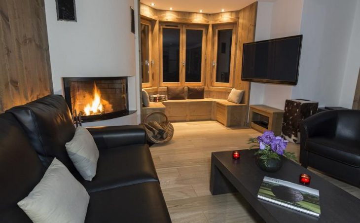 Chalet Le Blanchot, Courchevel, Lounge
