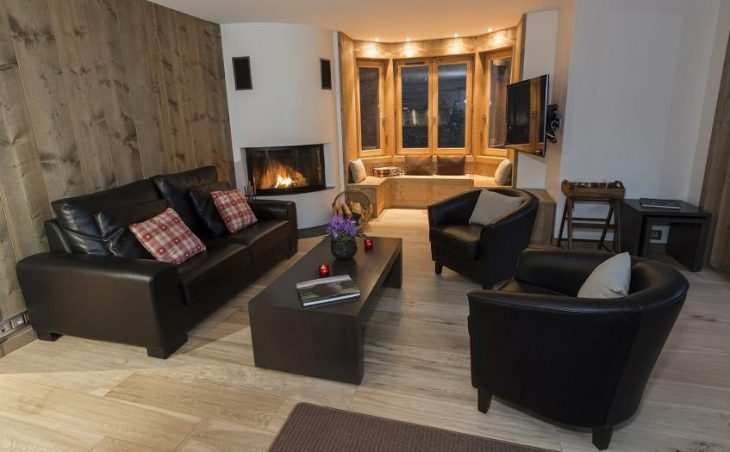 Chalet Le Blanchot, Courchevel, Lounge 2