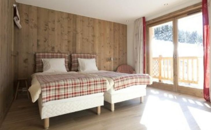 Chalet Le Bouquetin, Twin Bedroom