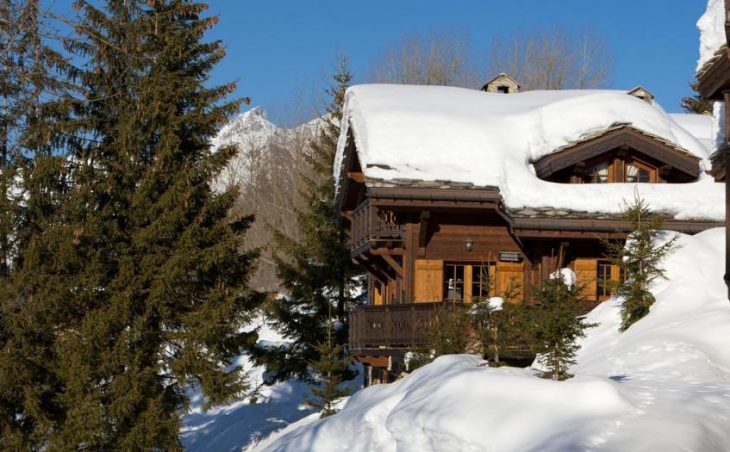 Chalet Le Mazot, Courchevel, External