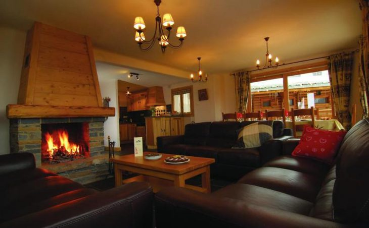 Chalet Le Notus, Courchevel, Lounge Area