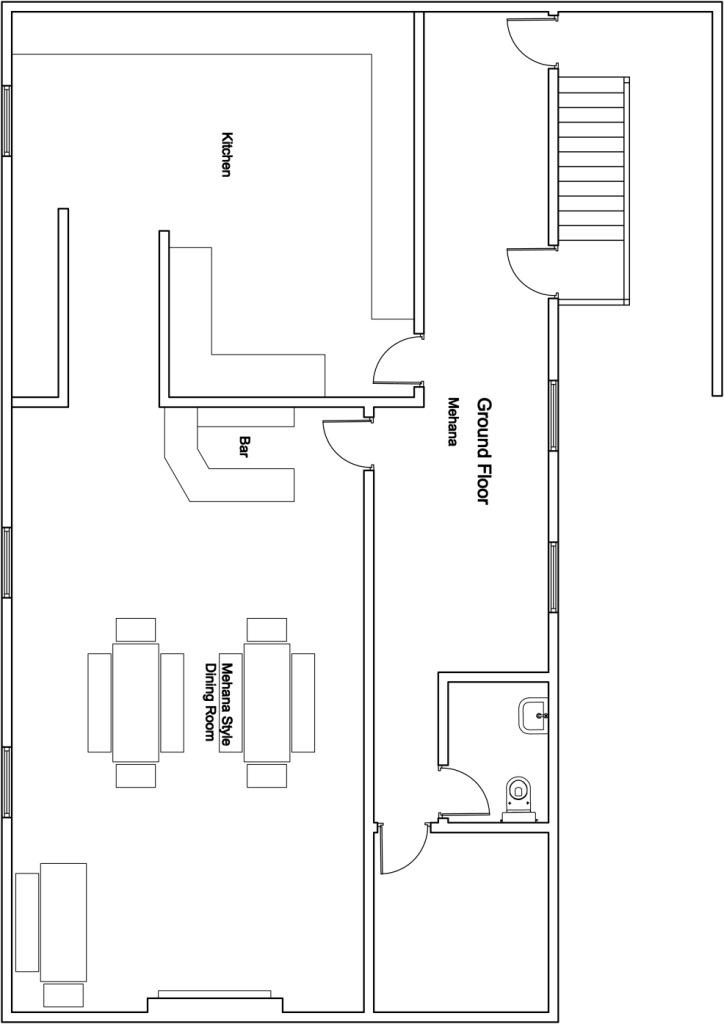 Chalet Mila Bansko Floor Plan 2