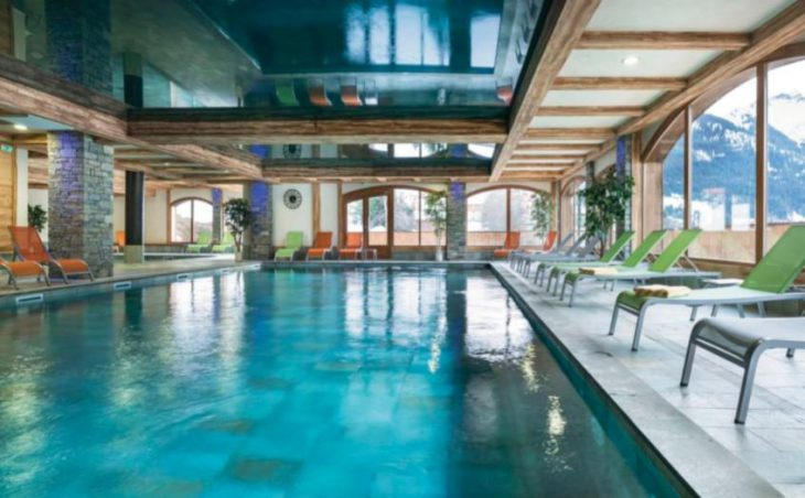 Chalets d'Angele, Chatel, Pool