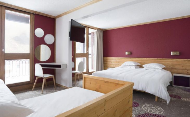 Club Med Arcs Extreme, Bedroom