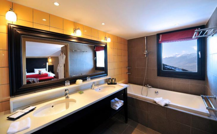 Club Med Peisey-Vallandry, Bathroom