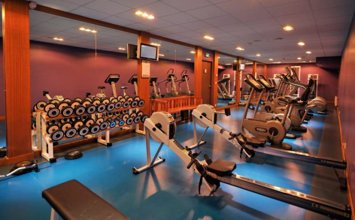 Club Med Val-d'Isere, Gym
