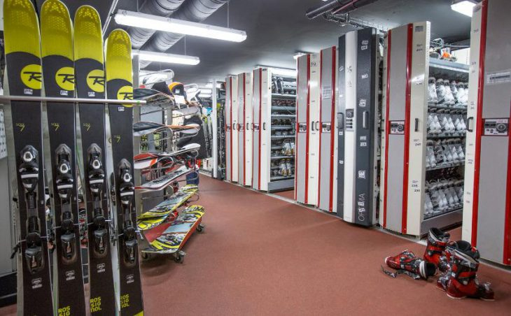 Club Med Val-d'Isere, Boot Room