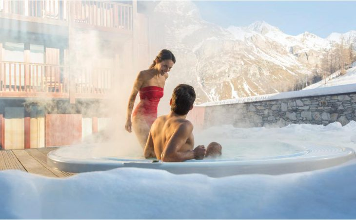 Club Med Val-d'Isere, Hot Tub