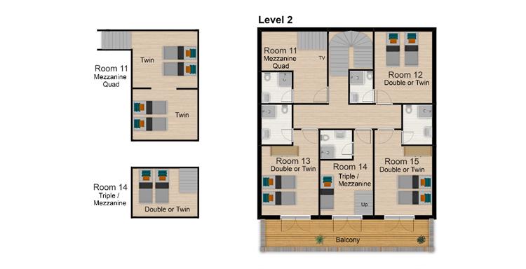 Coeur des Brevieres Tignes Floor Plan 3