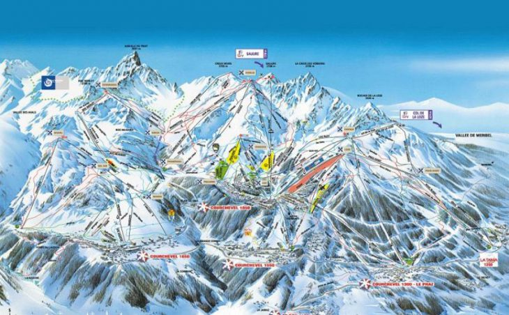 Courchevel Ski Resort 4