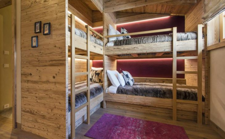 Crux Penthouse, St Christoph, Bunk Bedroom