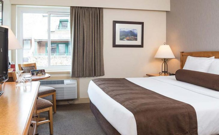 Crystal Lodge Hotel, Whistler, Double Bedroom