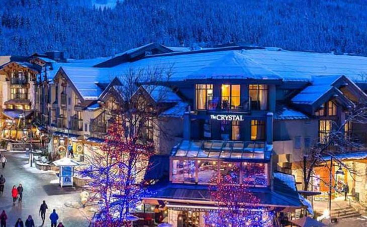 Crystal Lodge Hotel, Whistler, External