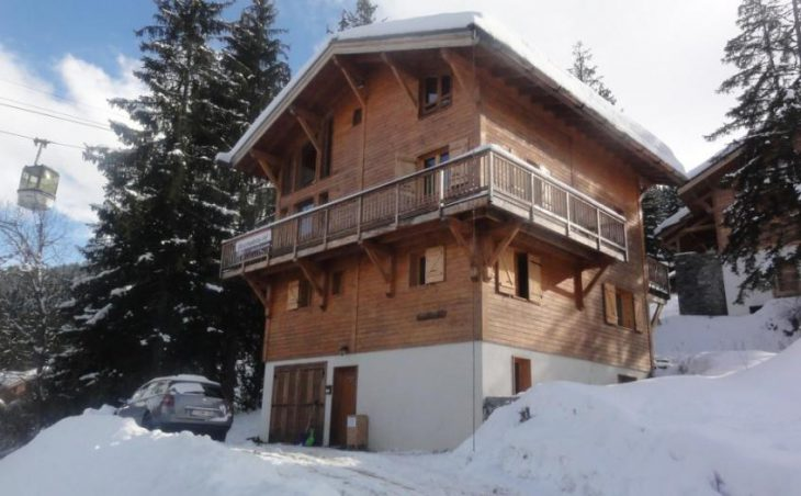 Chalet Dame Blanche in La Tania , France image 1