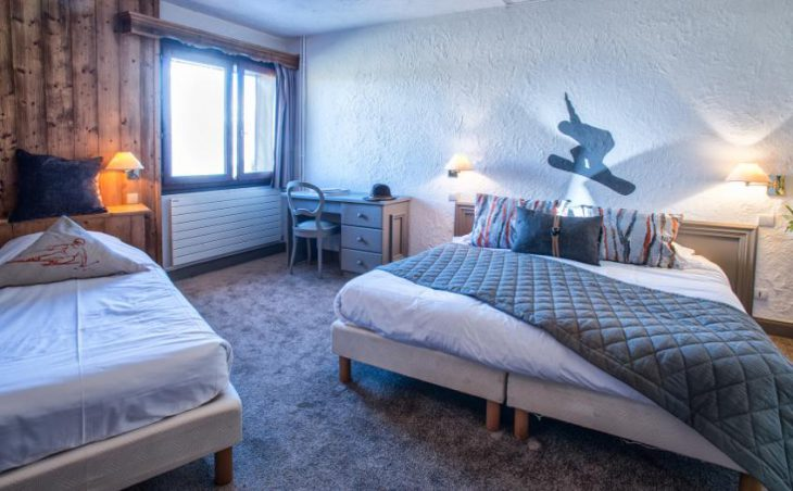 Hotel Courcheneige, Courchevel 1850, Bedroom 5