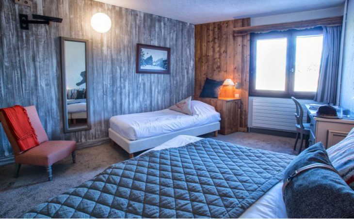 Hotel Courcheneige, Courchevel 1850, Bedroom 6