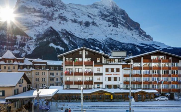 Derby Swiss Quality Hotel, Grindelwald, External