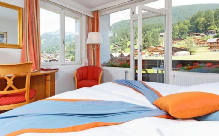 Derby Swiss Quality Hotel, Grindelwald, Bed