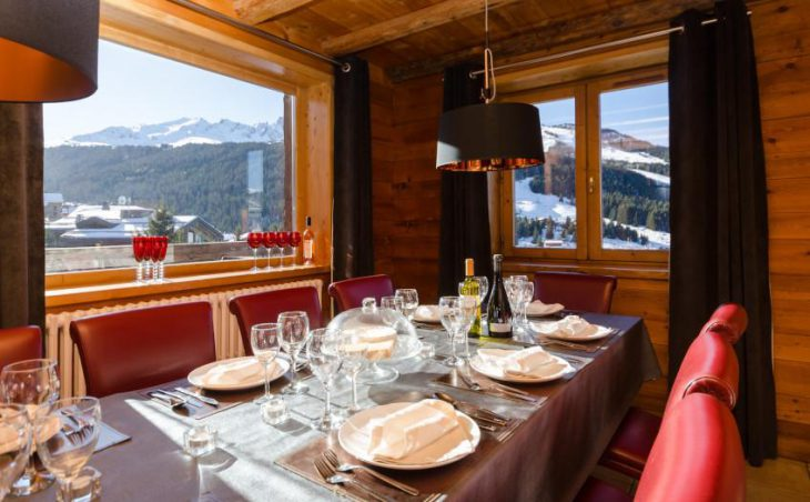 Eagle's Nest, Courchevel, Dining