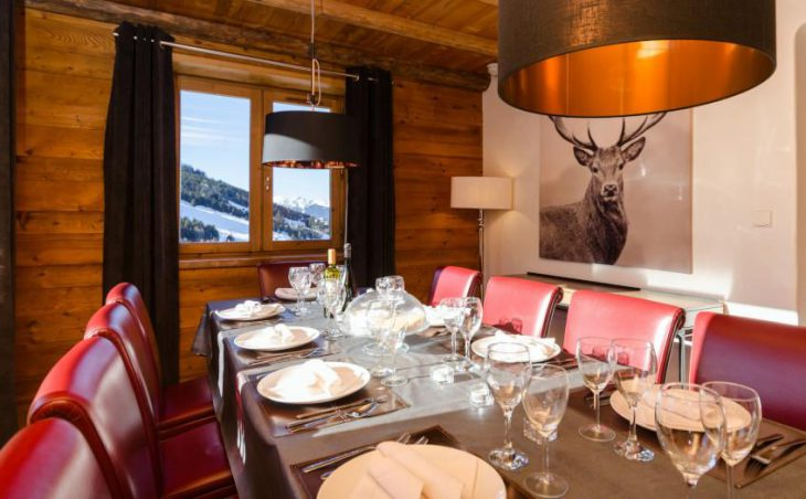 Eagle's Nest, Courchevel, Dining Table