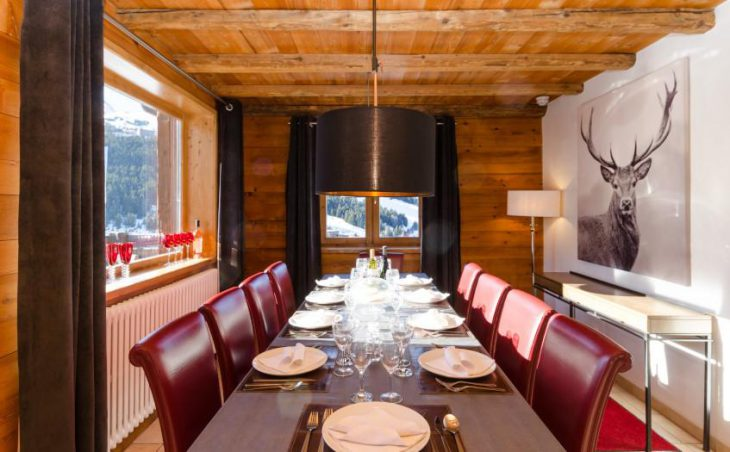 Eagle's Nest, Courchevel, Dining Room
