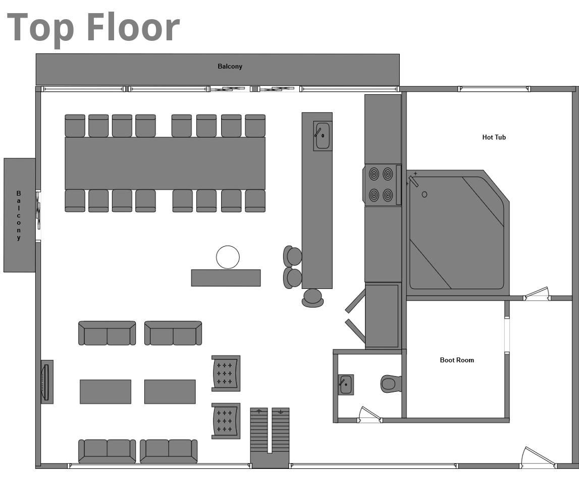 Chalet Edelweiss La Plagne Floor Plan 1
