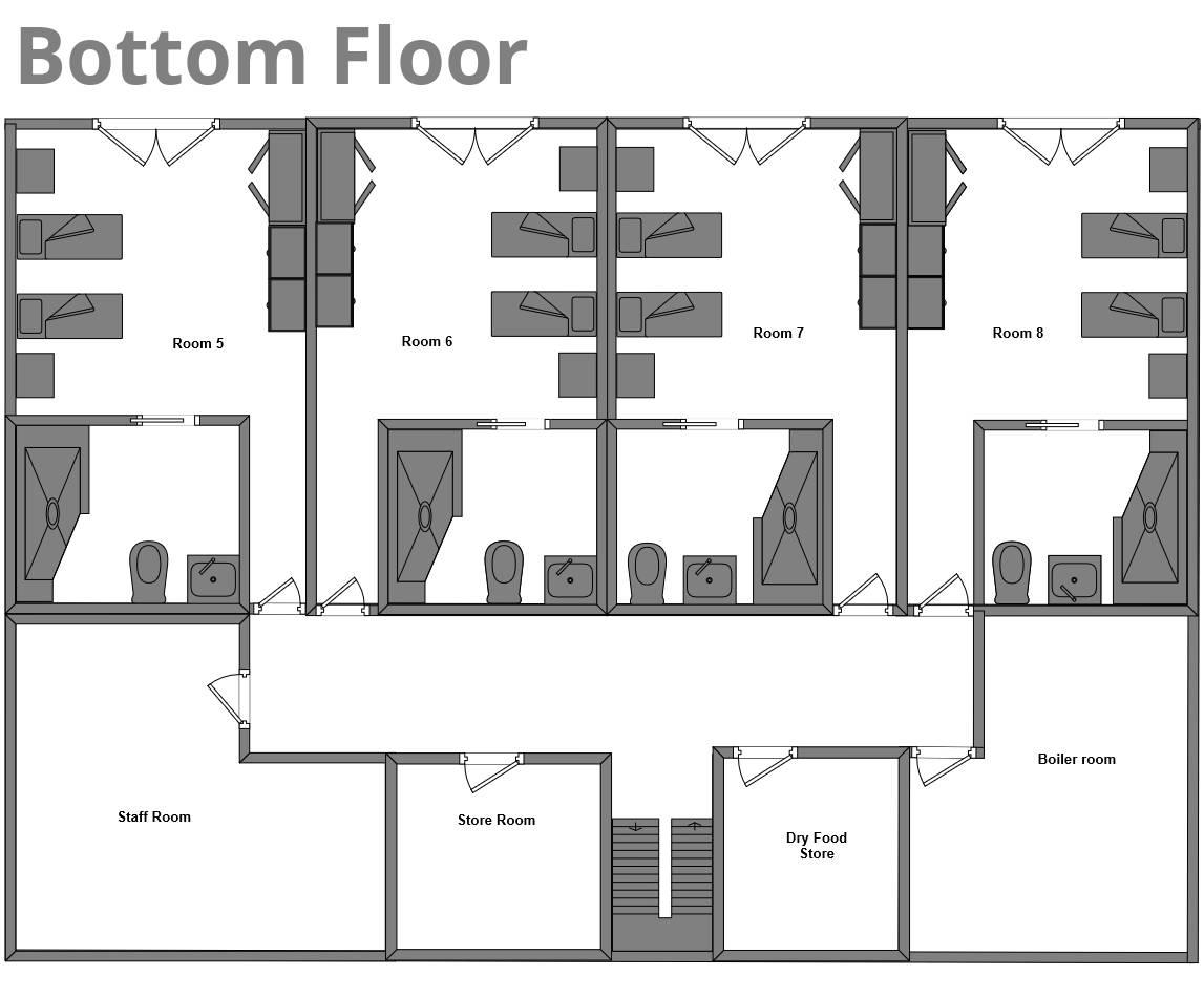 Chalet Edelweiss La Plagne Floor Plan 3