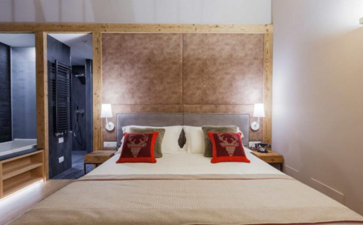 Excelsior Planet Hotel, Cervinia, Double Bed