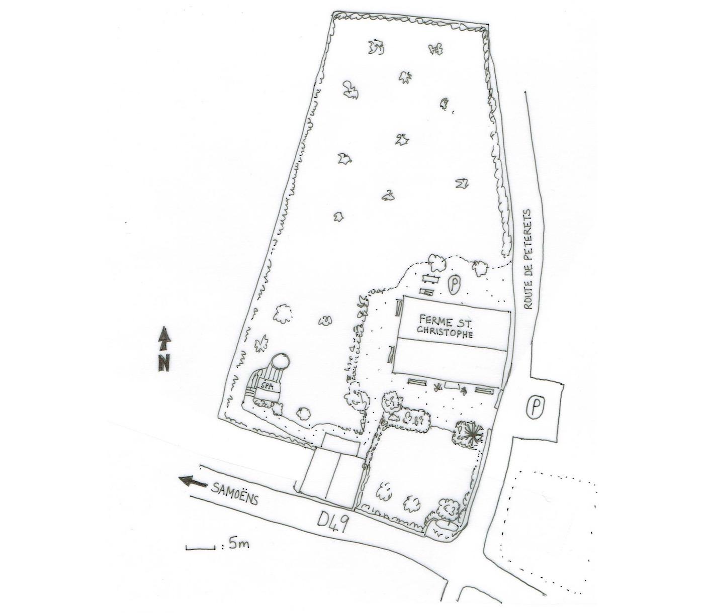 Ferme St Christophe Samoens Floor Plan 3