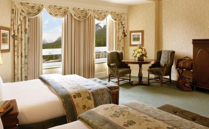 The Fairmont Banff Springs, Banff, Twin Bedroom