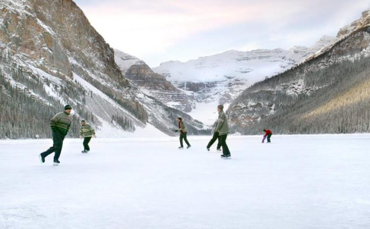 Fairmont Chateau Lake Louise, Lake Louise, Ice Skating