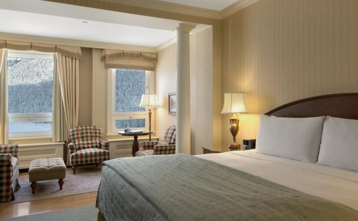 Fairmont Chateau Lake Louise, Lake Louise, Double Bedroom 2