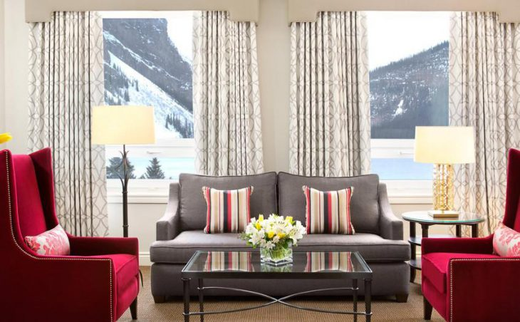Fairmont Chateau Lake Louise, Lake Louise, Lounge